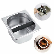 Stainless Steel Coffee Knock Box Container Coffee Grounds Container Coffee Tool