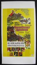 """Tommy Kirk """"Ernst"""" Auto SWISS FAMILY ROBINSON Signed 12x18 Canvas PSA/DNA COA"""