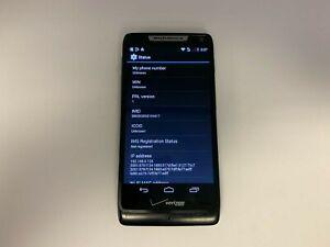 Motorola Droid RAZR M - XT907-   8GB - Black (Unlocked Vz) Smartphone