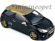 NOREV 181547 2013 CITROEN DS3 RACING 1/18 DIECAST MODEL CAR MATTE BLACK w GOLD