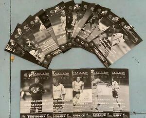 Complete Set of 1999 Seattle Sounders USL A-League Soccer Programs (17)