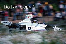 Carlos Pace Brabham BT44B de Martini Racing sueco Grand Prix 1975 fotografía 2