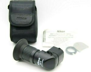 Nikon viewfinder DR-5 right angle with adaptor case D1 series F4 F100  SLR DSLR