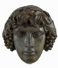 Antinous, Antinoos Bronze Mask sculpture artifact collectible