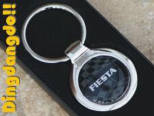 Ford Fiesta Chrome Keyring Key Ring Gift