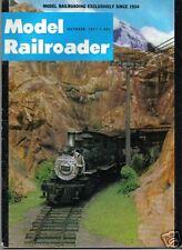 VINTAGE MODEL RAILROADER MAGAZINE TRAINS OCTOBER 1971
