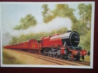 POSTCARD LMS ROYAL SCOT CLASS LOCO NO 6100 'ROYAL SCOT'