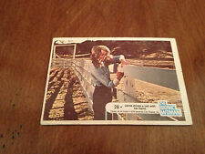 Vintage old 1976 THE BIONIC WOMAN Trading Card TV Television #28 Lindsay Wagner