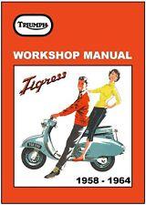 BSA Workshop Manual TRIUMPH Tigress BSA Sunbeam 1958 1959 1960 1961 1962 - 1964