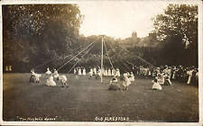 Alresford. Old Alresford. The Maypole Dance.