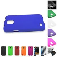 For Samsung Galaxy S4 Active i537 Hard Rubberized Matte Cover Case