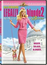 LEGALLY BLONDE 2: RED WHITE & BLONDE (WS) NEW DVD
