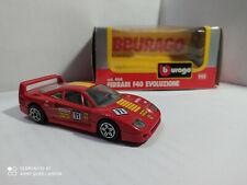 Ferrari F40 Evoluzione 1/43 Bburago with origanal box