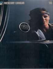 Mercury Cougar 1986 USA Market Sales Brochure Standard LS XR-7