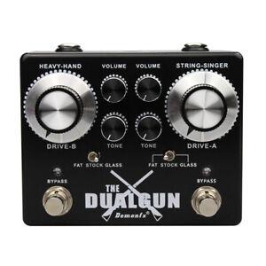 Demonfx  Dual Gun 2 Channel Blues/Rock Overdrive Numerous set Options US Ship!