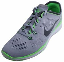 Nike Free 5.0 TR Fit 5 Womens Grey/Green Running Sneakers size 7.5