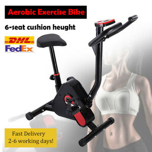 ✅Aerobic Exercise Bike Cycling Trainer Cardio Fitness Workout Machine Home 2021✅