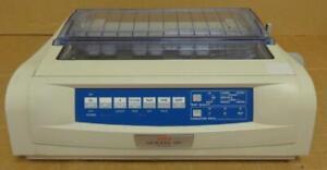 Oki Microline 490 24 Pin Dot Matrix Printer missing paper separator