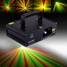 310mW Proyector de Láser Escenario Luz Iluminación LED RGY DMX512 Discoteca Pub