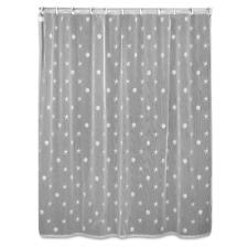 Heritage Lace White SAND SHELL Shower Curtain - Starfish Shells Beach Coastal