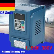 3HP AC 380V 1.5kW 4A Frequenzumrichter VFD Drehzahlregler Frequency Driver