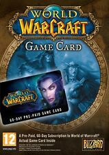 WoW - Gamecard Prepaid 60 Tage - World of Warcraft Karte Card 60 Days PC - EU