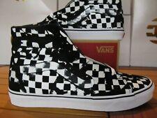 VANS Sk8-Hi Overprint Check Black Whit Checker 11.5 VN0A38GEUPS Skate Shoe vault