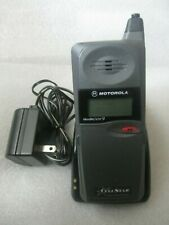 Motorola flip phone MicroTAC/650 Cell Phone W/Charger still WORKS!!