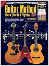Progressive Guitar Method Book 1 Notes, Chords, and Rhythms by Gary
