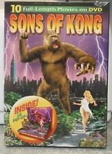 Sons of Kong (DVD 2006) RARE OOP BRAND NEW ( 3D POP-UP INSIDE VERSION ) 10 FILMS