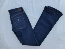 WOMENS GUESS BOOTCUT ULTRA LOW JEANS SIZE 26x30.5 #W1480