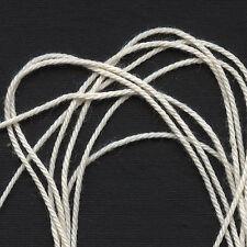 + 8 Bobinas Kit de arte Kumihimo Trenzado de ~ 2 Discos 1 Redondo +1 Plaza approx. 12.19 m Cable de 40 ft