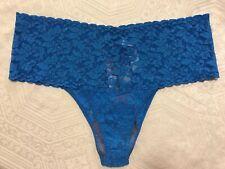 Hanky Panky Blue Retro Thong  Panty