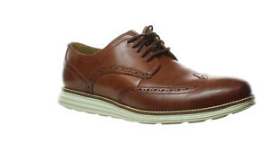 Cole Haan Mens Original Grand Brown Wing Tips Size 11 (Wide) (1487197)