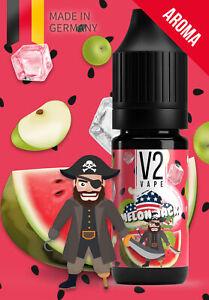 V2 Vape US Melon Jack - Melone u. saurer Apfel Mix USA Style AROMA / Konzentrat