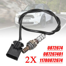 2pcs Lambda Oxygen O2 Sensor For BMW Mini R50 R53 R52 R56 One Cooper 11780872674
