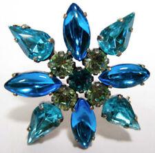 Modeschmuck-Broschen & -Anstecknadeln aus Kristall Glassteine