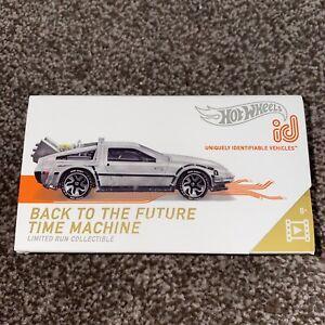BTTF Time Machine Limited Edition Hot Wheels id Premium Model Brand New Unopened