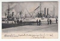 [47297] 1907 POSTCARD LEAGUE ISLAND IN THE NAVY YARD, PHILADELPHIA