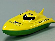 "Rc Remote Control 23"" Balaenoptera Musculus Racing Boat Green-Yellow New"