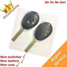 Repair refurbishment service for Mini One Cooper S 2 button remote key fob