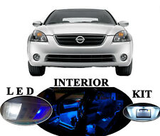 LED Package - Interior + License Plate + Vanity for Nissan Altima (12 pieces)