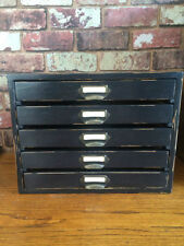 Antique Style Handmade 5 Chests of Drawers