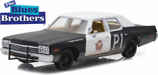 "GREENLIGHT 1/24 1974 DODGE MONACO BLUESMOBILE ""THE BLUES BROTHERS"" MOVIE MODEL"