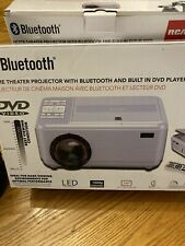 Rca Home Theater Led Projector 1080p Bluetooth w Built-in Dvd Player Rpj140