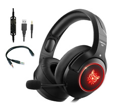 ONIKUMA K9 LED Gaming Headset with Mic for PS4 Laptop New Xbox One PC Mobile