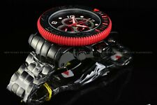 """Invicta 70mm Full Sea Hunter """"Devil Thirsty for Blood"""" Swiss High Polished Watch"""