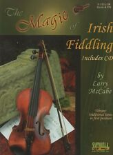 The Magic of Irish Fiddling Book & Cd by Larry McCabe Tunes in 1st Position New