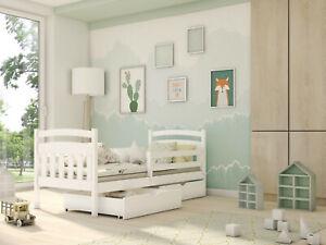 Kinderbett, Einzelbett SOLO inkl. Lattenrost, robustes Massivholz, NEU!