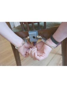 BDSM Eisschloss Zeitschloss Ice lock kompakt - 1 Stunde mit Halterung